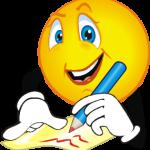 writing-smiley